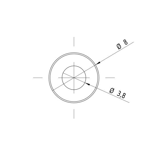 Laserfuchs LFD635-1-3(8x23)-C60-CON