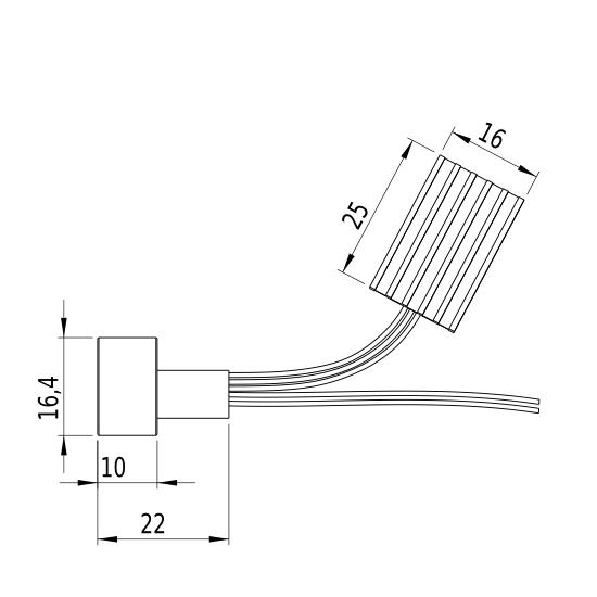 Laserfuchs LFT808-200-3(19x22)