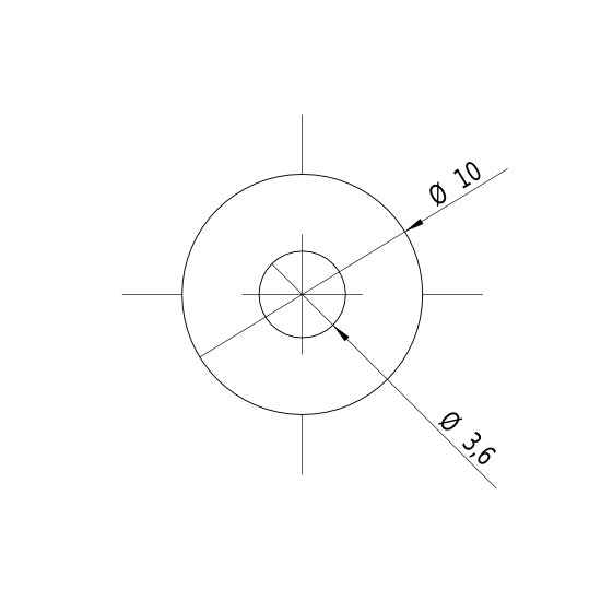 Laserfuchs LFD650-0.4-12(10x22)6-12V