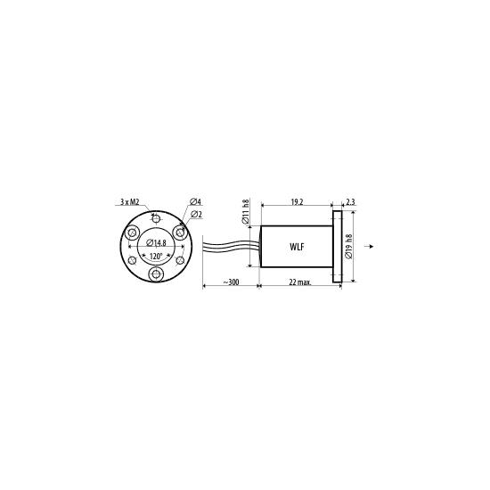 Picotronic Laser DC650-1-5(11x22)-AP