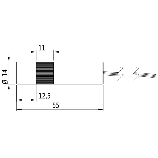 Picotronic LC405-16-3-F(14x55)30