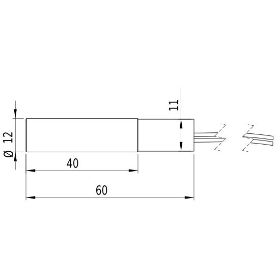 Laserfuchs LFD532-5-3(12x60)-C35