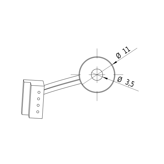 Laserfuchs LD650-4-5(11x30)-F1000